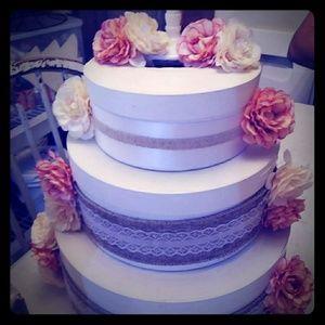 Honeymoon fund cake